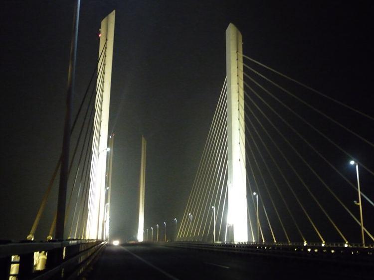 滨州黄河大桥照明改造项目