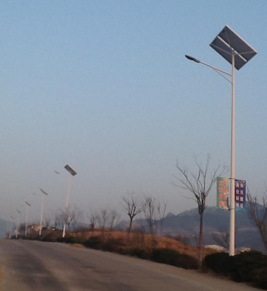 青岛市崂山区北宅街道太阳能路灯